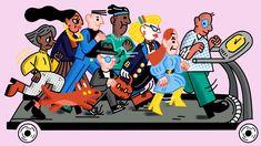 Apocalypse - Poba Magazine - Carol Rollo - Illustrator Apocalypse, Illustrators, Comic Books, Magazine, Comics, Cover, Art, Art Background, Kunst