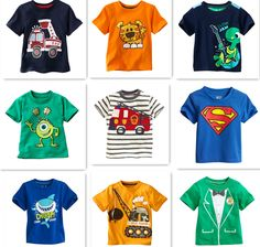 Retail Brand 2014 New Children's blouse T shirt Kids Baby boys Clothing Childrens Summer Clothes Cartoon tshirts Dinosaur Car-in Tees from Apparel & Accessories on Aliexpress.com   Alibaba Group