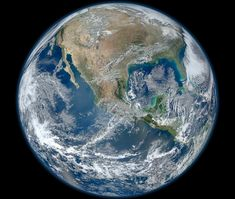 Behold one of the more detailed images of the Earth yet created. This Blue Marble Earth montage shown above -- created from photographs taken by the Visible/Infrared Imager Radiometer Suite (VIIRS) instrument on board the new Suomi NPP satellite.  Go to the Nasa page and click on the picture to see it in its full glory.