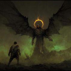 Segane the embodiment of darkness