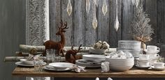 Sophisticated yet spirited Christmas Tabletop