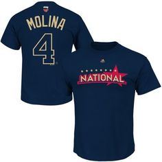Louis Cardinals Majestic 2014 All Star Game Name & Number T-Shirt - Navy  Blue