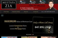 Mustafa Zia is a successful realestate agent in Mississauga with big online success. Wisevu built this website using a content management system so Mustafa and his staff can easily update new projects for sale and much more.