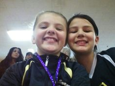 Me and sage at a volleyball tournament