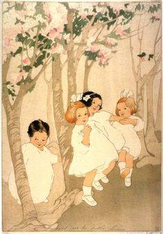 Cherry Blossoms - Bertha Lum