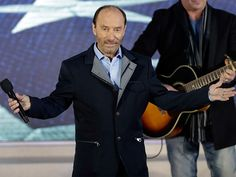 Watch: Lee Greenwood Performs 'God Bless the USA' at Trump Inauguration Concert Country Artists, Country Singers, Usa Songs, Presidential Inauguration, New President, Old Singers, The Hollywood Reporter, Music Artists, Donald Trump