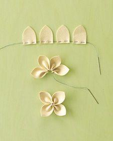Make a simple flower...
