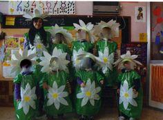 bolsas de basura verdes disfraz de flor http://www.multipapel.com/familia-material-para-disfraces-maquillaje-bolsas-de-color.htm