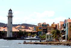 Paisaje de Puerto La Cruz Venezuela.