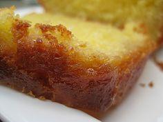 Succulente recette!! le gateau arrosé au citron