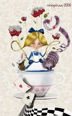 ALICE IN WONDERLAND BY ALEJANDRO DE MARCOS