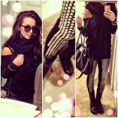 love carli bybel's style oh so much.