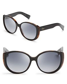 Dior Large Round Cat Eye Sunglasses | Bloomingdale's