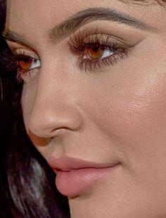 kylie jenner kylie jenner red carpet makeup celeb celebrity celebritycloseup