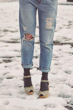 Swedish Hasbeens - rockin' the Savannah with socks