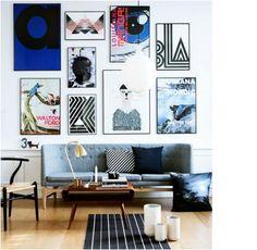 rockpaperdresses, cathrine nissen, billedvæg, hvordan laver man en billedvæg, ehrenstråhle, playtype, Stilleben