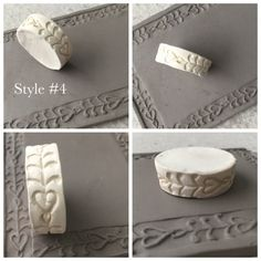 Clay Stamp Finger Roller Finger Roller Border Design Bisque Pottery Tool for Ceramic Decoration and Texture Air Dry Clay 4 Ceramic Texture, Clay Texture, Diy Clay, Clay Crafts, Ceramic Clay, Ceramic Pottery, Bisque Pottery, Pottery Tools, Pottery Ideas