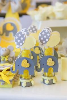 ideas for baby boy born party Idee Baby Shower, Baby Shower Cakes, Baby Boy Shower, Baby Shower Gifts, Elephant Party, Elephant Theme, Elephant Baby Showers, Baby Party, Baby Shower Parties