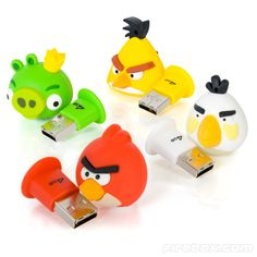 Angry Birds Flash Drives  Got to have