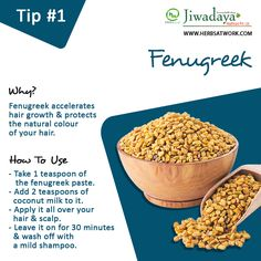 Powerful #Home #Remedies for Hair Growth. For more visit #HairGrowth #HairFall #HairContol