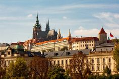 Prague. In the heart of Europe