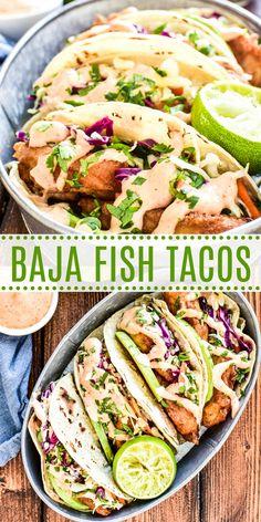 Slaw Recipes, Seafood Recipes, Mexican Food Recipes, Dinner Recipes, Salmon Recipes, Recipes With Fish, Chili Recipes, Fish Dinner, Seafood Dinner