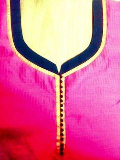 14 Churidhar Neck Designs, Salwar Neck Designs, Neck Designs For Suits, Churidar Designs, Kurta Neck Design, Neckline Designs, Blouse Neck Designs, Sleeve Designs, Suit Pattern