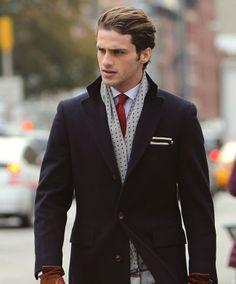 Facetem jestem i o siebie dbam   Męski Blog   Moda, zdrowie, psychologia » Jak wiązać męski szalik?