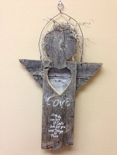 Prototype Blessing Angel from old fence wood - by Bye Bye @ LumberJocks.com ~ woodworking community