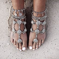 http://www.foreversoles.com/collections/barefoot-sandals/products/boho-goddess-barefoot-sandals  $89.95