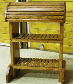 Cool saddle stand idea!