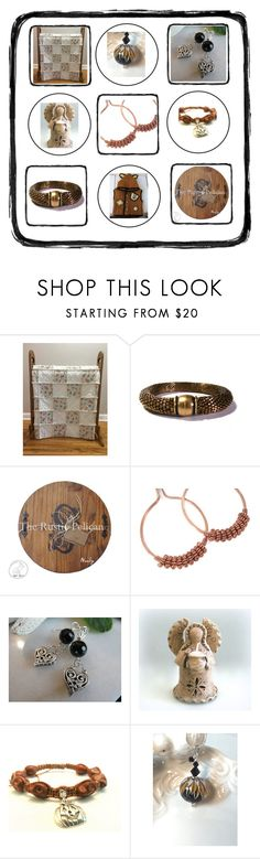 """""""By: The Rustic Pelican"""" by therusticpelican ❤ liked on Polyvore featuring Shamballa Jewels, modern, contemporary, rustic and vintage"""