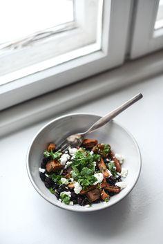 Kylmän päivän lämmin salaatti