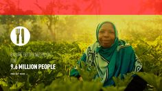 Aid will ensure better nutrition for 9.6 million people!