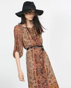 Boho chic bohemian boho style hippy hippie chic bohème vibe gypsy fashion indie folk dress