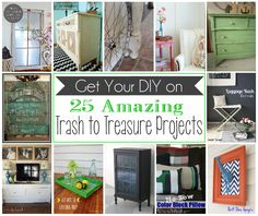 25 Amazing Trash to Treasure Projects