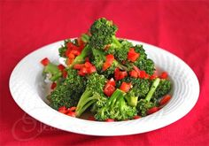 Easy Stir-Fry Broccoli and Red Bell Pepper Recipe