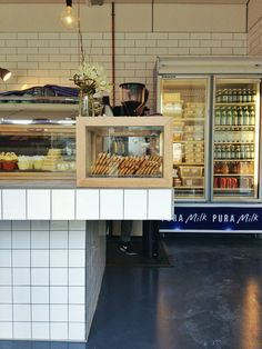 Miss Frank | Camberwell, Melbourne | tiled counter, window box