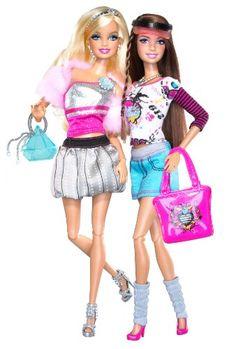 Barbie Fashionistas Glam And Sporty (2010) - Clara et Steffie