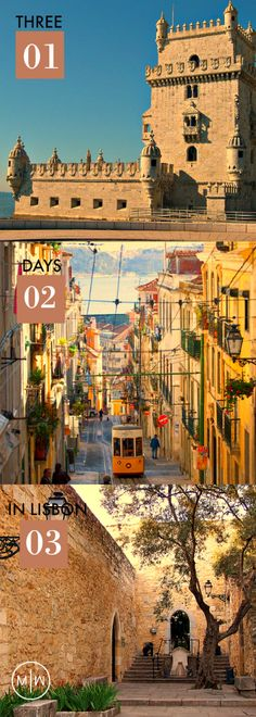How to spent your weekend/midweek in Portugals capital Lisbon!
