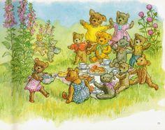 Teddy Forest: Vintage Children's Books- Molly Brett