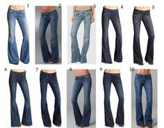 I love these types of jeans.