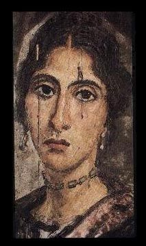 Ancient Roman Fayum portrait