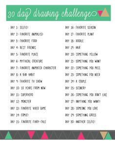 A month of drawing challenges. a month of drawing challenges 30 day art challenge, sketchbook challenge, challenge ideas, Sketchbook Challenge, 30 Day Drawing Challenge, 30 Day Challenge, Challenge Ideas, Art Journal Prompts, Art Journals, Comics Sketch, Drawing Prompt, Drawing Drawing