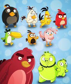 angry birds leonard - Buscar con Google