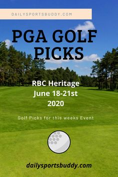 Some Expert PGA Golf Picks for the RBC Heritage at Harbour Town GL, Hilton Head, SC. Free Golf Picks and PGA Golf Picks on some of the more fancied golfers in the RBC Heritage Field. #golf #rbcheritage #golfpicks Golf Picks, Pga Tour Golf, Golf Pga, Fantasy Golf, Dublin Ohio, Golf Betting, Daily Fantasy