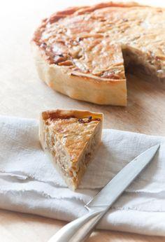 torta alsaziana di cipolle con quark                     #recipe #juliesoissons