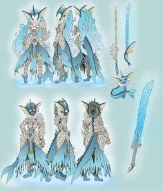 Even More Pokémon Gijinka Warrior Designs