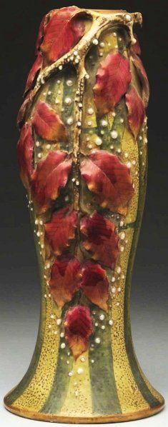 Tall Paul Dachsel Vase.