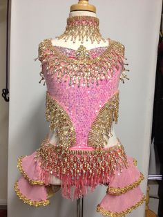 A dress/costume suited for. Princess. Amazing on stage either for dance or Pageant. Find it for resale at Dance Costume Connection https://www.facebook.com/DanceCostumeConnection/posts/538466949564571
